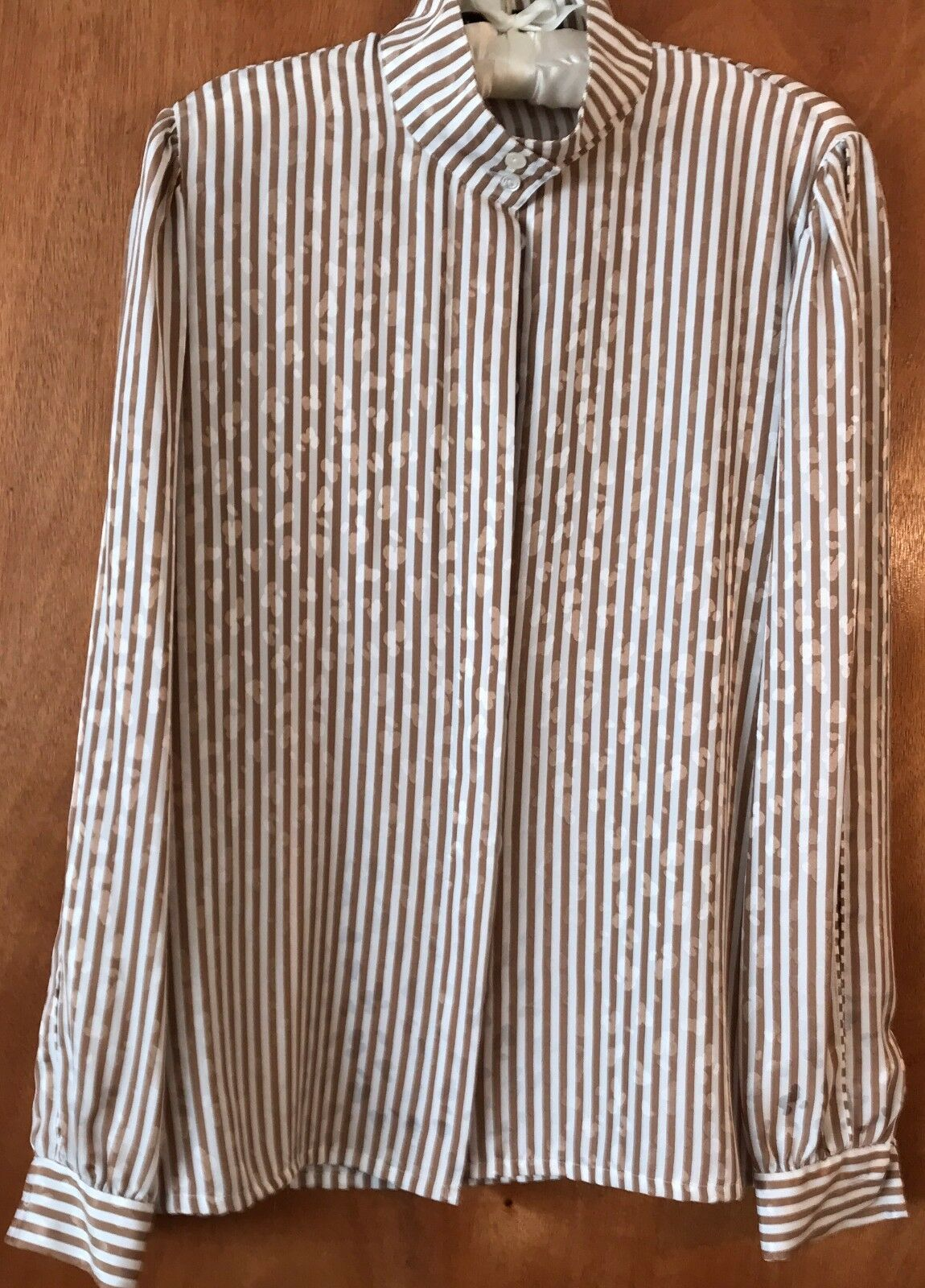 Louis Féraud 100% Polyester (Women's) S US 8 Vintage  Formal Long Sleeve