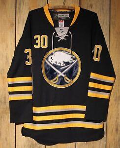 Reebok NHL Centre Ice  30 Ryan Miller Buffalo Sabres Jersey Sewn ... f38fef0aa19