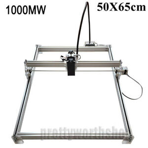 50X65cm 1000MW Desktop Laser Engraving Machine Cutter CNC Printer Image Marking