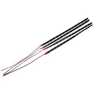 4-X-30cm-Bande-de-Lampe-LED-etanche-et-Flexible-Pour-la-voiture-M5G9