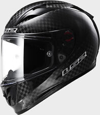 SALEL 59-60 CM LS2 FF323 ARROW CARBON BLACK EVO BLACK MOTORCYCLE CRASH HELMET