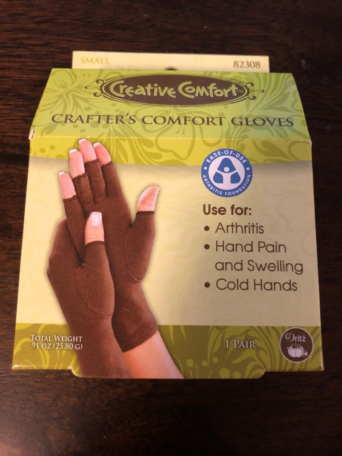 Crafters Comfort Support Gloves for Needlework Quilting Cross Stitch