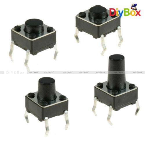 30PCS 6X6X8mm 4-pin DIP Tactile Push Button Switch Tact Switch