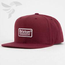 BRIXTON NEW Men/'s Rift MP Snapback Cap Black BNWT