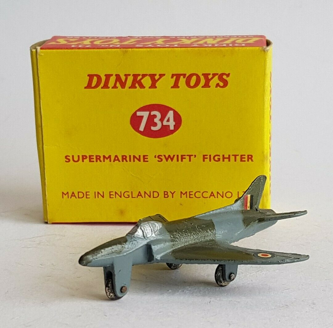 Dinky Toys No. 734, Supermarine  Swift  Fighter, - Very Near Mint Condition.