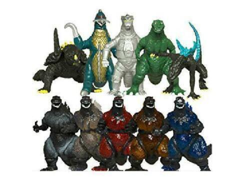 Mini Dinosaur Oliasports kids Action Collections Godzilla Toys 10Pcs Figure New
