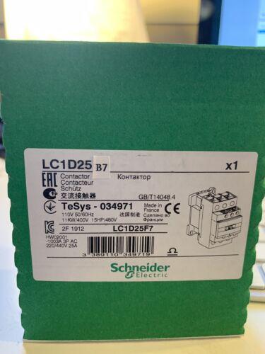 LC1D25B7 24Ac  Schneider Contactor