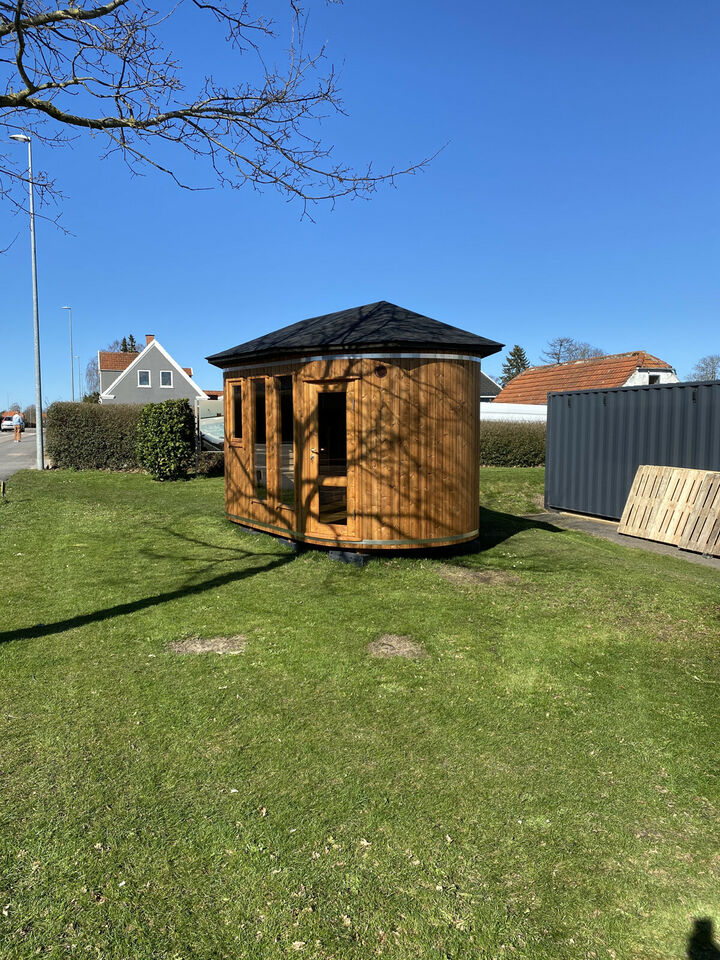 Saunatønde -  i ThermoWood. Normalpris kr. 99.000