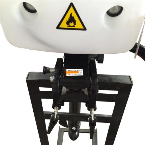 HANGKAI 4PS 4Takt Außenborder Motor Outboard Fischerboot CDI Luftkühlsystem 52CC