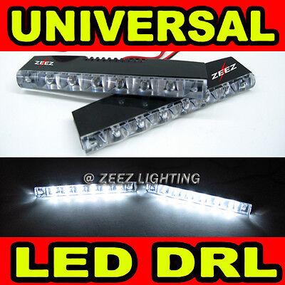 Euro 6 LED Daytime Running Light DRL Fog Lamp Daylight Kit Day Time Lights C13