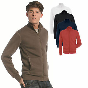 herren b c sweatjacke stehkragen sweatshirt shirt pullover s 3xl ebay. Black Bedroom Furniture Sets. Home Design Ideas