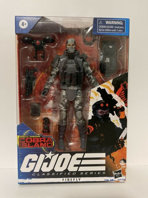 GI Joe Classified Series Special Missions Cobra Island Firefly Target Exclusive