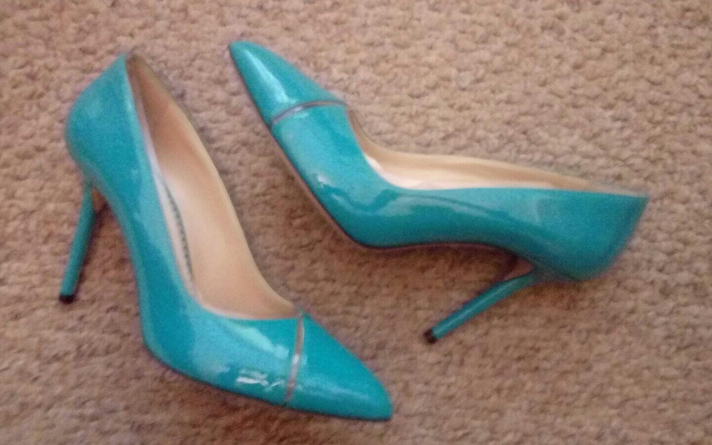 Splendido Charlotte Olympia Turchese tribunali tribunali tribunali 38 Nuovo  di Zecca 0a90bd. Valleverde scarpe donna décolleté ... c2288043fbb