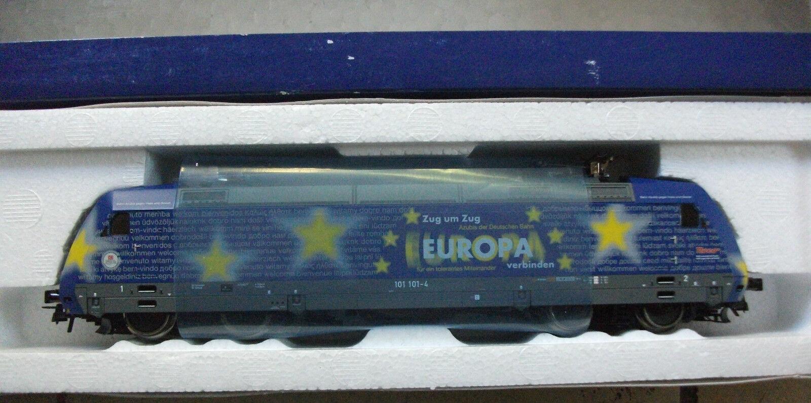 Roco 69799 h0 e-Lok DB AG 101 101-4 europalok con decodificador digital nuevo