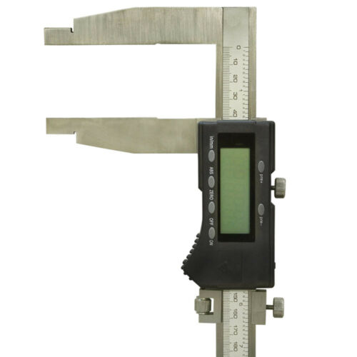 0.0005 Inch Graduation 24 Inch Long Jaw Stainless Steel Electronic Dial Caliper