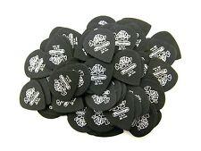 Dunlop Guitar Packs  Tortex Jazz   72 Pack  Pitch Black  .88mm  482R.88