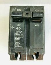 Miniature Circuit Breaker Amps 40 A Circuit Breaker Type Thol Poles 2 Th