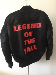 The weeknd starboy black bomber jacket sz large alpha industries image is loading the weeknd starboy black bomber jacket sz large gumiabroncs Choice Image