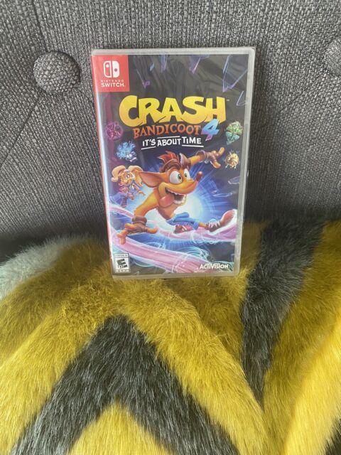 Crash Bandicoot 4 🔥🔥Nintendo Switch NWT
