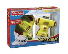 Geotrax Remote Control Bi Plane with Loopy Loco & Darren ~ The Most Daring Team