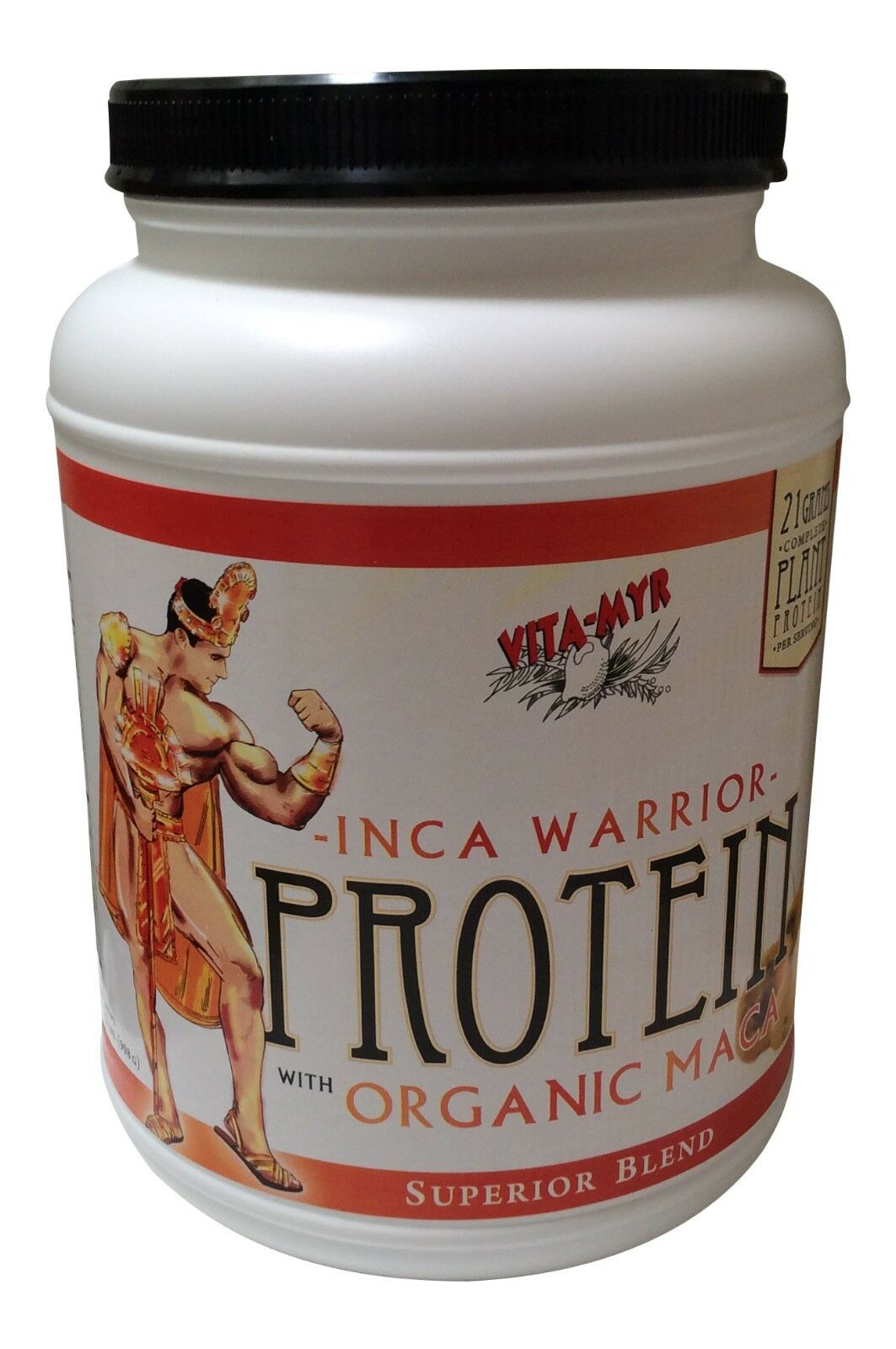 Vanilla PROTEIN Powder Build & Retain Muscle, Stamina Energy, Vitality, Stamina Muscle, w/ Maca 105445
