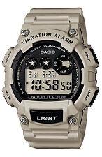 Orologio Casio W-735H-8A2DF VIBRATION ALLARM ILLUMINATOR GRIGIO SUB 100MT CHRONO