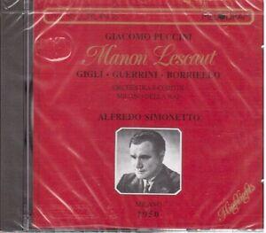 Puccini-Manon-Lescaut-Selezione-Simonetto-Gigli-Guerrini-Milano-1950-CD