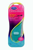 Dr. Scholl's Dream Walk 16 Hour Insoles 1 Pair Women's Size 6-10, New, Free Ship