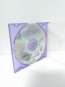 AeroWings 2: Air Strike (Sega Dreamcast, 2000).  DISC ONLY Tested Fast Shipping