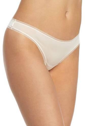 Dkny Litewear Low Rise Thong Vanilla /& Beige S XL