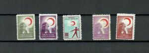 TURKEY-EUROPE-COLLECTION-RED-CRESCENT-UNLISTED-MN-STAMPS-LOT-TUR-69-B