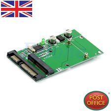"mSATA SSD Female To 2.5"" 7+15 Pin SATA Male Mini USB 5pin Converter Card"