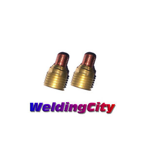 "Tig Torches Intelligent 2-pk Tig Welding Gas Lens Collet Body 45v45 1/8"" Torch 9/20 Us Seller Fast Ship"