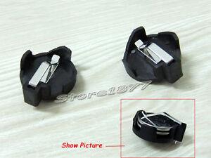 5Pcs Plastic Housing CR2032 SMD Cell Button Battery Holder Socket Case s417