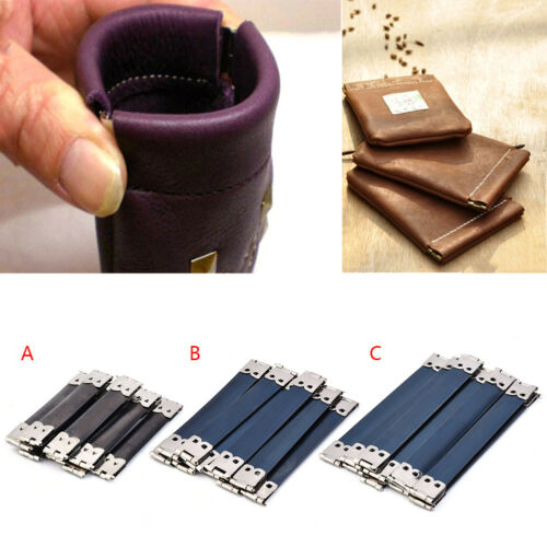 10 PCS DIY Iron Bag Accessory Internal Elastic Purse Wallet Frame Photo Bucket