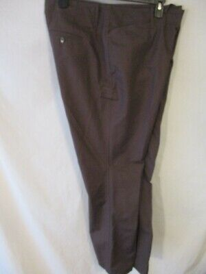 Pants Humble Eddie Bauer Cotton Blnd Size 20 Brown Mercer Fit Casual Pants Nwot Women's Clothing