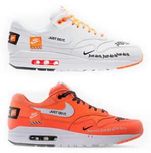 best service 57d36 2f1f3 Details about Nike Air Max 1 SE JDI Casual Shoes AO1021 100, AO1021 800  Total Orange White
