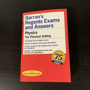 Barron's Regents Exams and Answers- Physics (The Physical ...