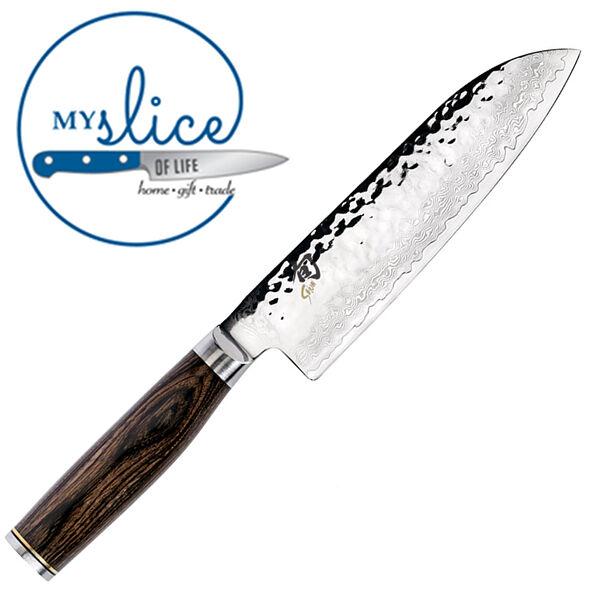 Shun Premier 7  18cm Santoku Knife - - - Gift Box TDM0702 - MADE IN JAPAN 984420