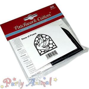 Sugarcraft patchwork cutters-colombe de la paix ebosser cutter gâteau décoration outil