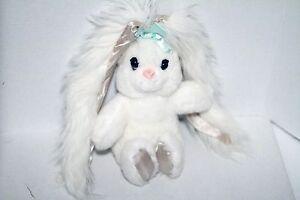 PJ Toys, Inc. White Bunny Rabbit Plush Toy Doll w/ Long Ears!