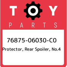 Rr Spoiler No Seal Genuine Toyota Parts 76889-46010