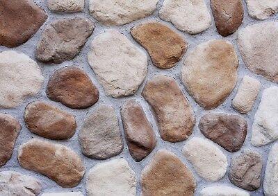 Klinker Heimwerker Gut Verblender,klinker,fassadensteine,steinriemchen Steinoptik River Rock Amazonia