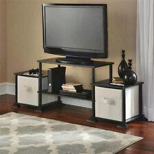 Mainstays Tv Stand Furniture Entertainment Center Media Console Storage Flat Screen Shelf