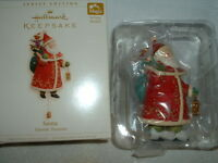 2006 Magic Hallmark Keepsake Christmas Ornament Santa Yuletide Treasures MIB