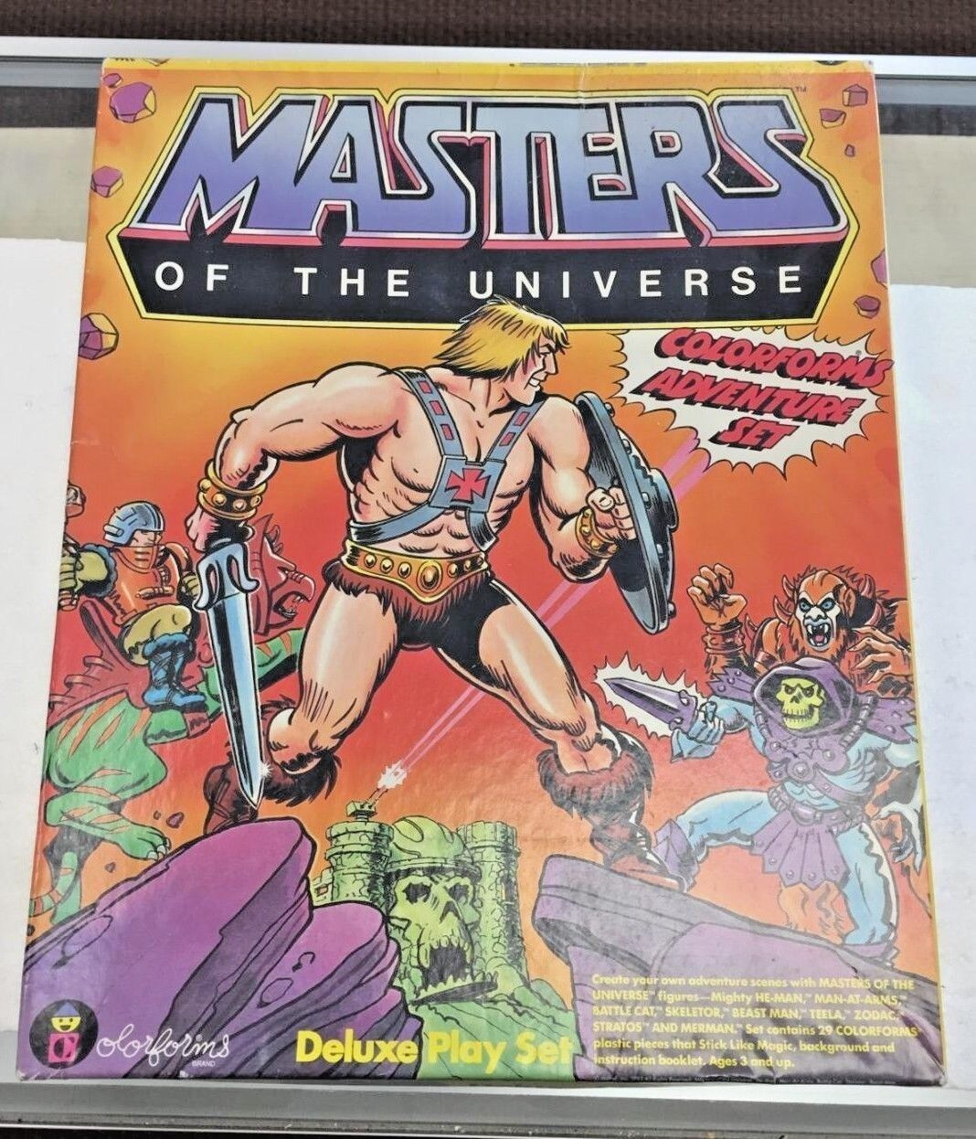 Masters of the Universe Deluxe Play Set 1983