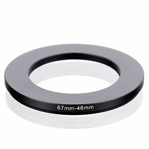 58 mm Filter on 46 mm Lens Ares Foto/® Step Up Filteradapter//Adapter Ring 46mm 58mm