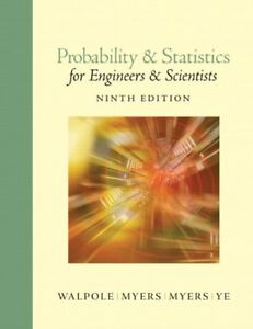 Details about Probability and Statistics for Engineers and Scientists (9th  Edition)