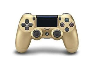 Sony PlayStation DualShock 4 Wireless Controller - Gold (CUH-ZCT2)
