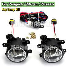 Fog Lamp Light For Peugeot 207 307 408 Citroen C4 C5 Picasso 2005 Wiring Harness